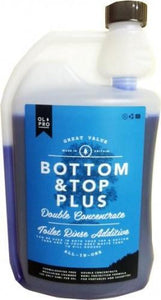 OLPRO Bottom and Top Plus Caravan Toilet Cleaner (1L)
