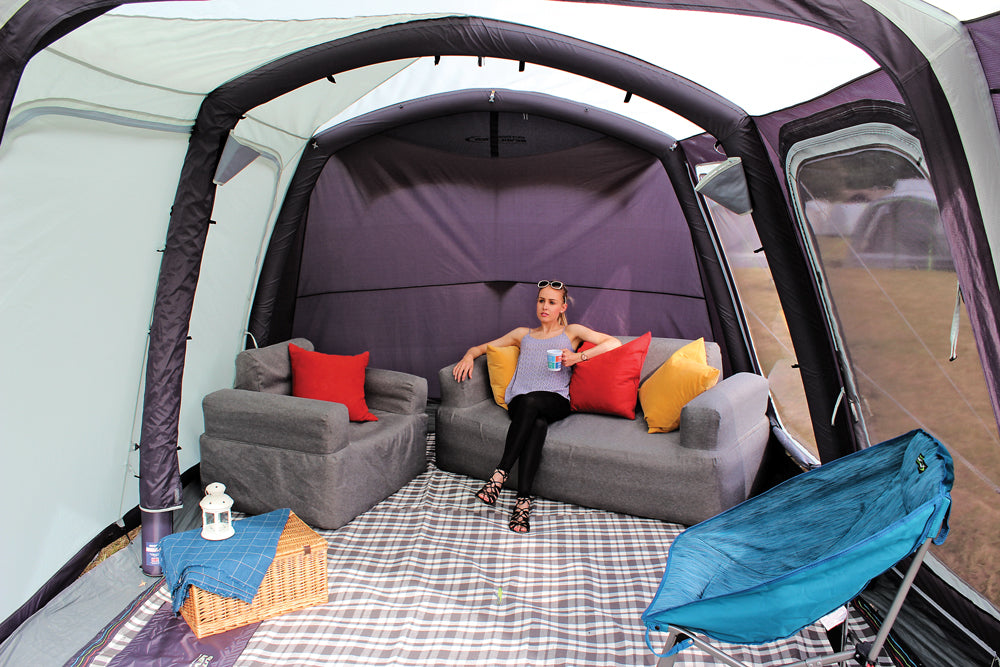 Outdoor Revolution Premium Inflatable Sofa with Cover ...