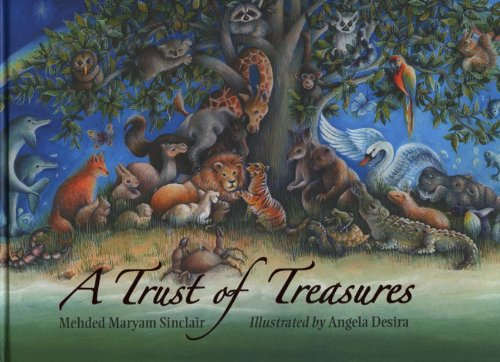 A Trust of Treasures by Mehded Maryam Sinclair  (Author), Angela Desira (Illustrator)