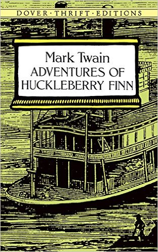 Adventures of Huckleberry Finn by Mark Twain (Author)