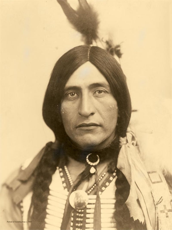 Chief Luther Standing Bear: Training began with children