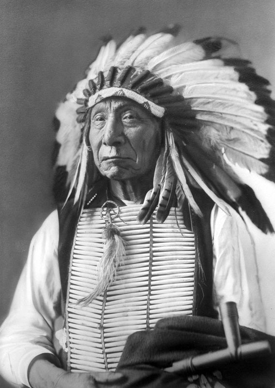 Chief Red Cloud: I am poor and naked