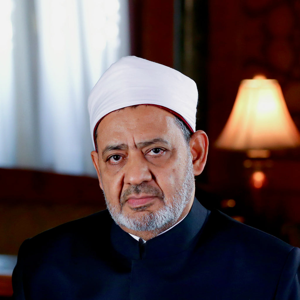 Grand Imam of Al-Azhar Shaykh Ahmed el-Tayeb; Cairo, Egypt