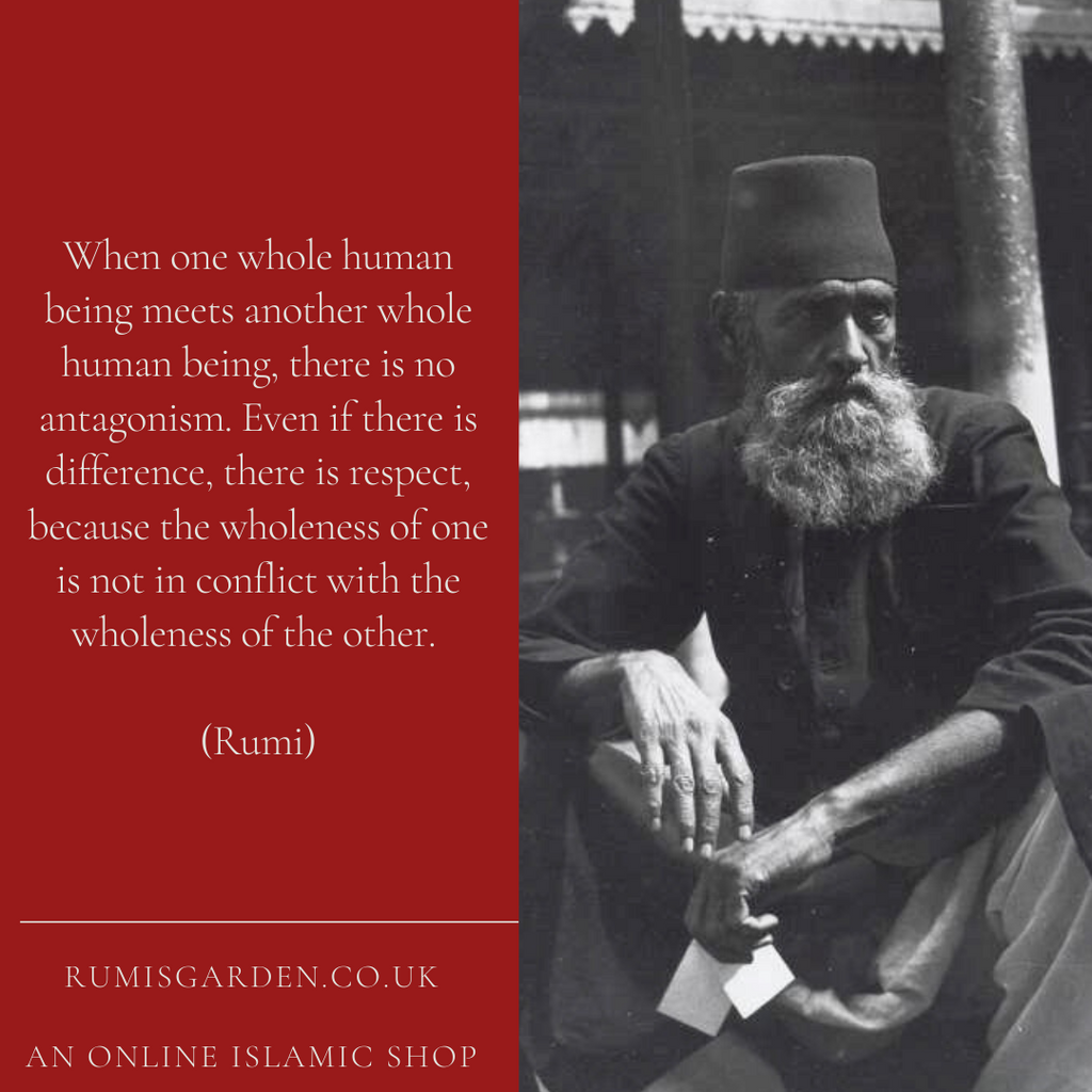 Rumi: When one whole human being
