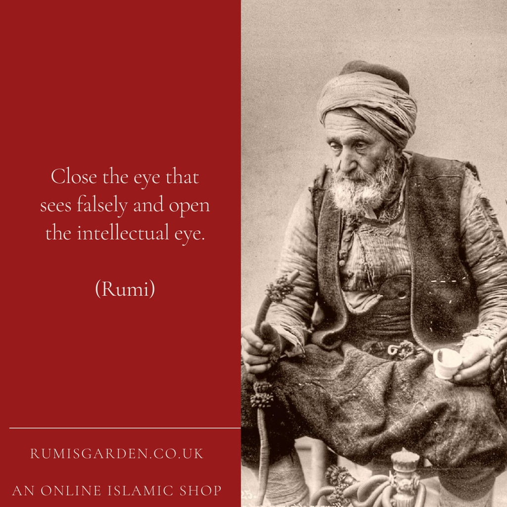 Rumi: Close the eye