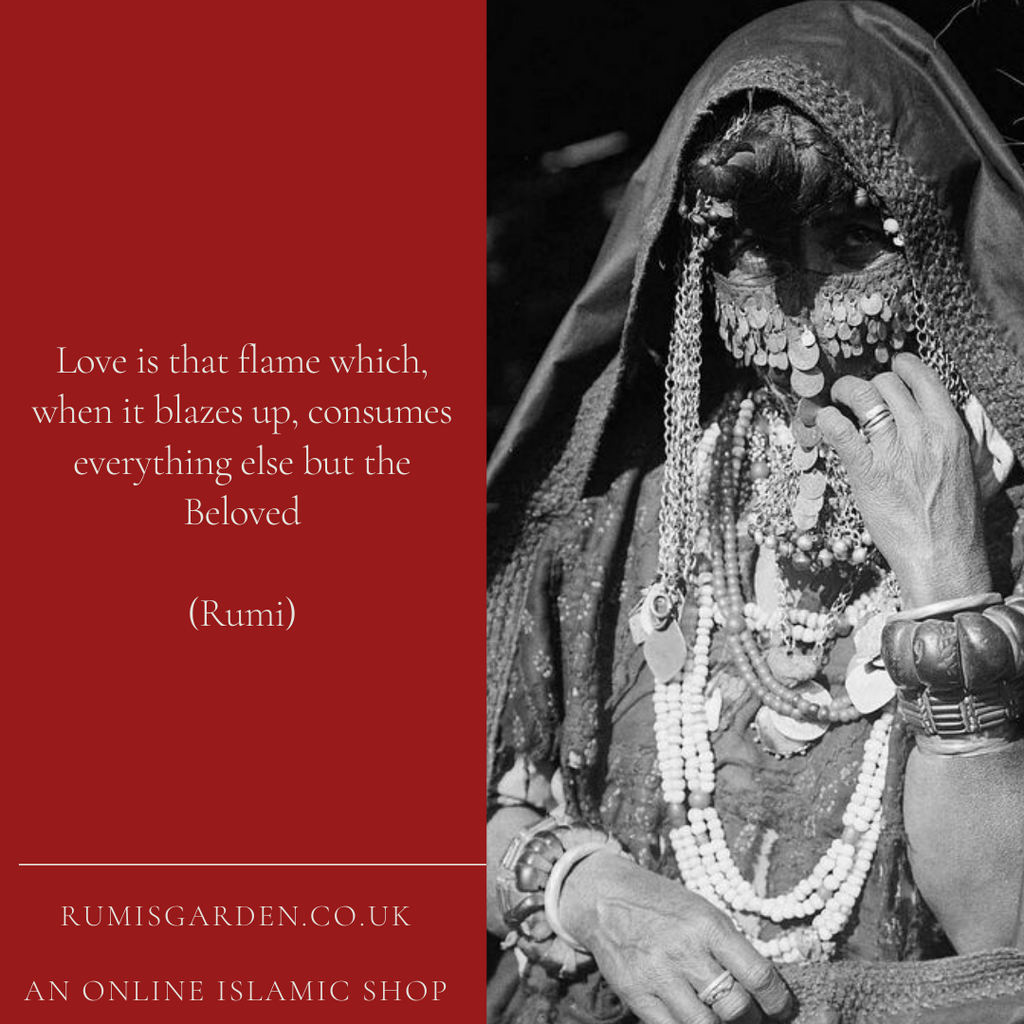 Rumi: Love is that flame