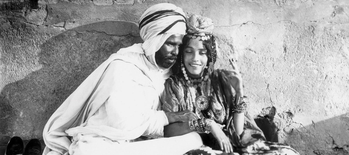 Couple, Ouled Nail, c. 1910; Lehnert Landrock