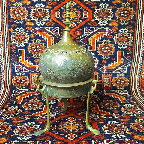 Incense burner from Ottoman Empire sold at www.RumisGarden.co.uk