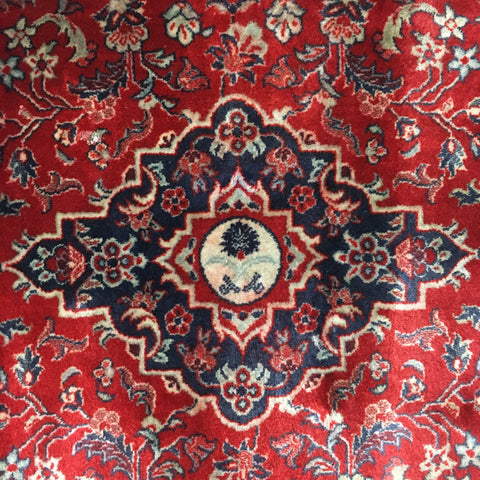 Carpet from around the Holy Ka'aba sold at www.RumisGarden.co.uk