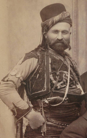 Man during the Ottoman Empire, 1895