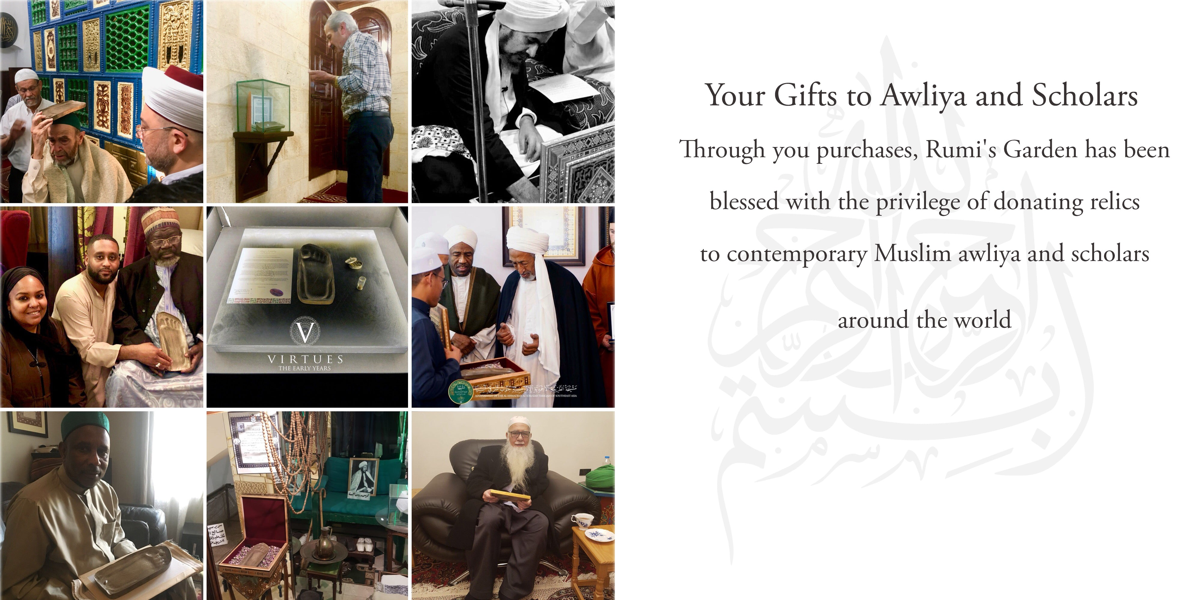 Your Gifts to Awliya and Scholars