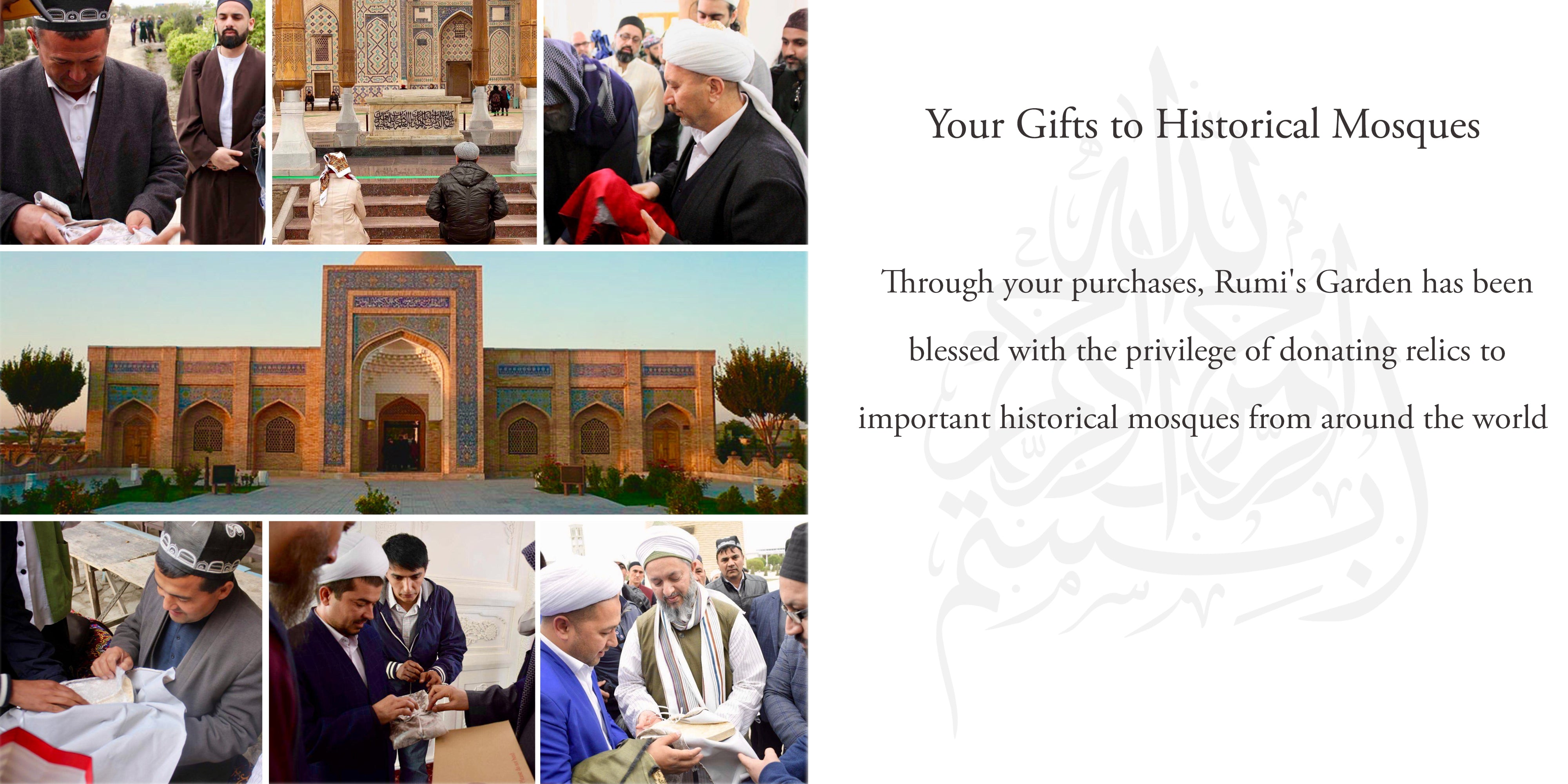 Your Gifts to Historical Mosques