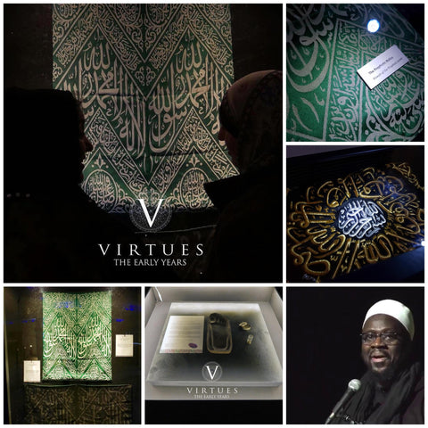 Islamic Relics partially donated by Rumi's Garden to The Virtues Tour in the UK