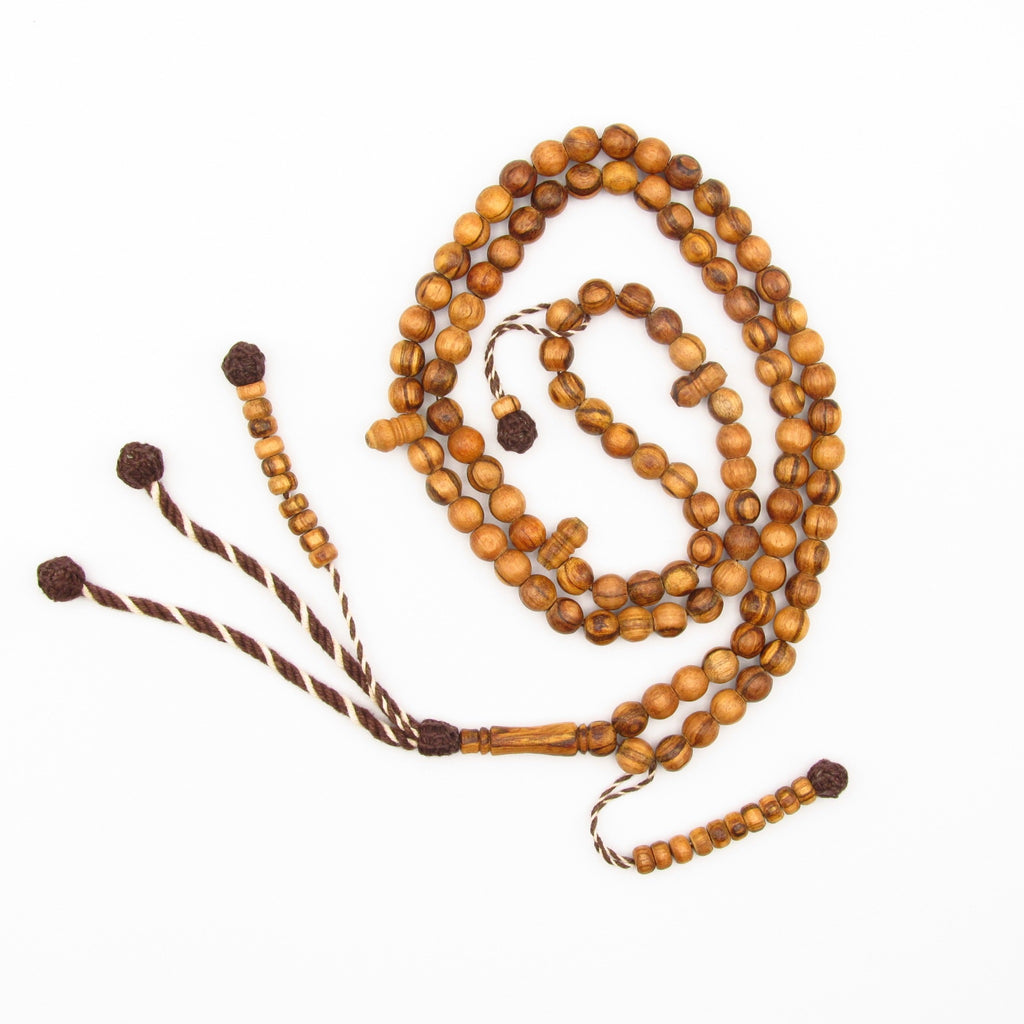 Oud 8mm islamic prayer beads
