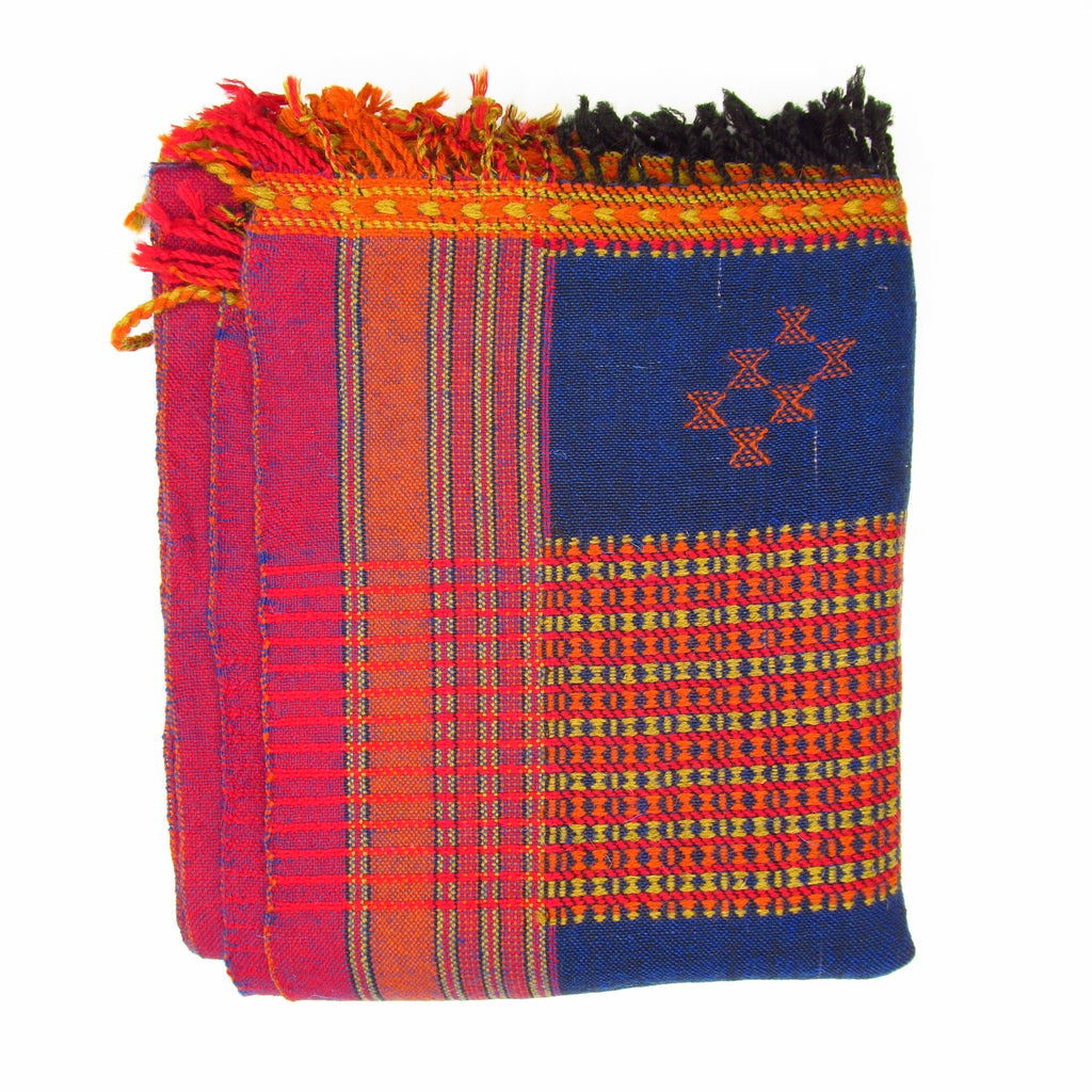 Large Hand-loomed Gujarat Shawl