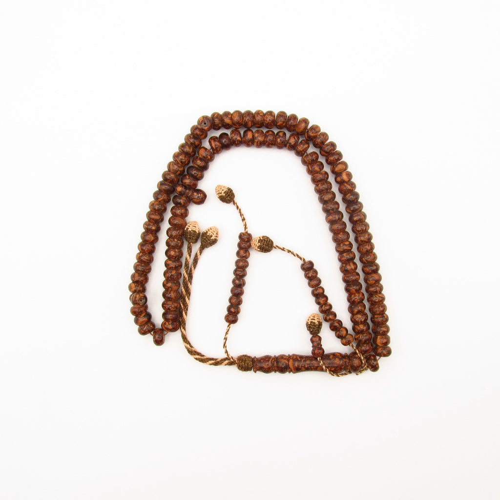 Medium size scented tasbih from Cinnamon wood