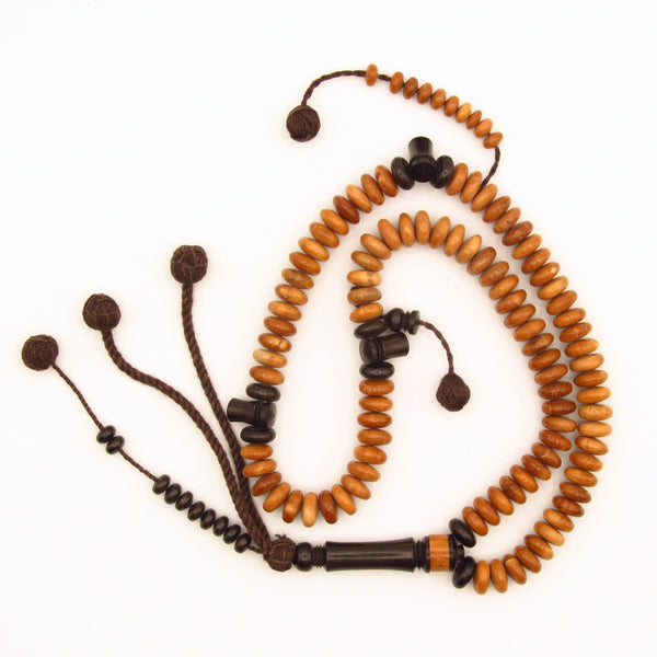 kaukah Islamic prayer bead with ebony alif