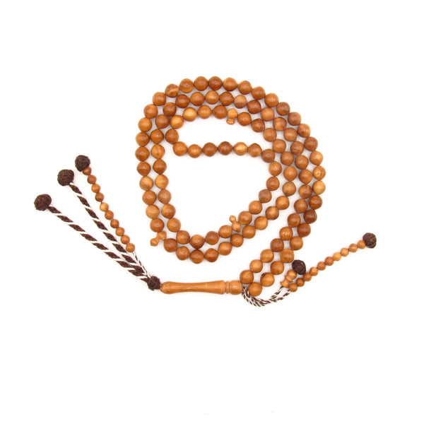 Coquilla prayer bead 8mm 100 beads