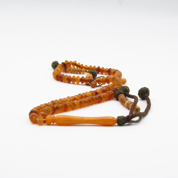 Beatiful egyptian mutton horn Islamic prayer bead