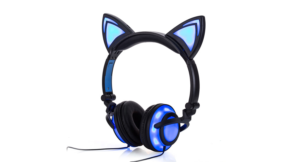 Casques Chats lumineux - Atypique