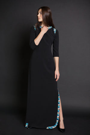 Long Tailored-fit Gown - Sara Dress