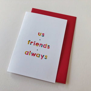 Best Friend Card - Ant Design Gifts