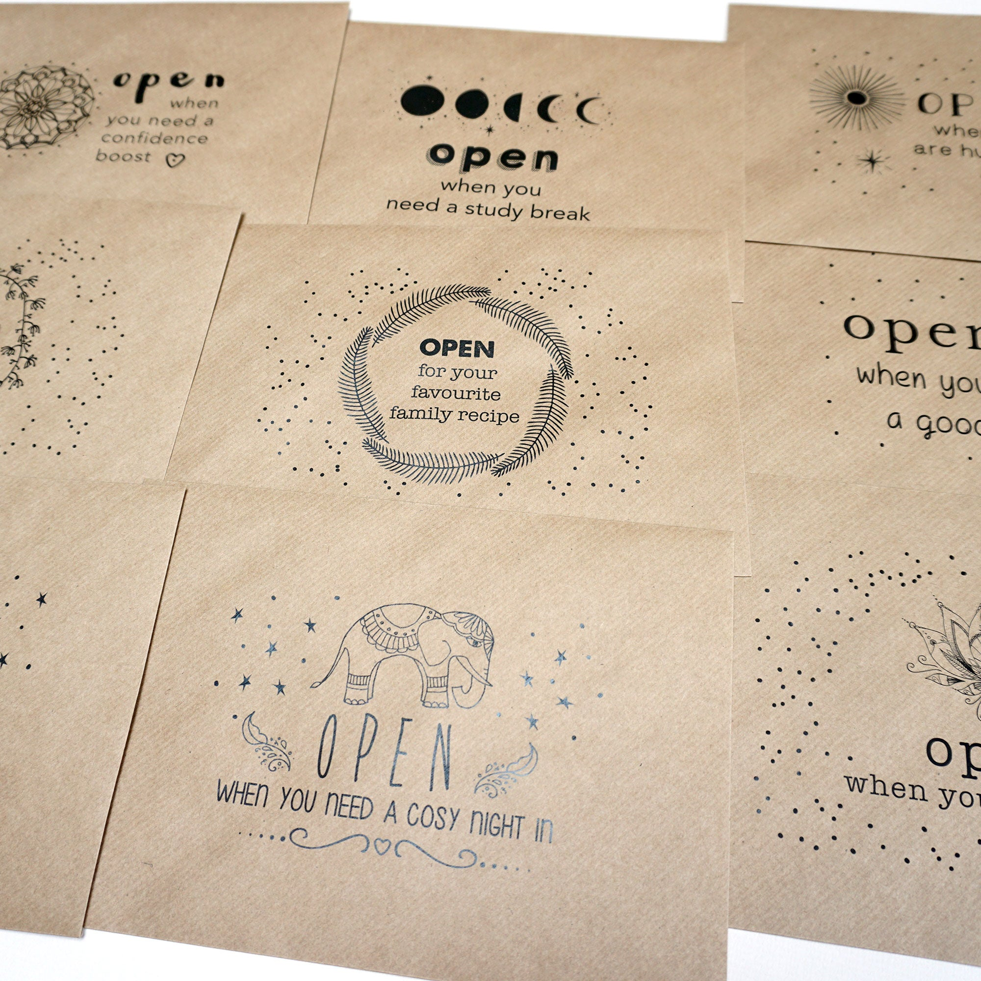 Open When Envelopes for College or University - Ant Design Gifts