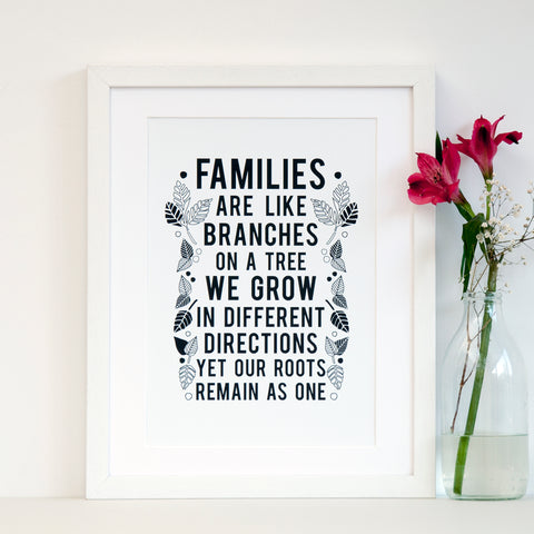 Family Tree Print - Ant Design Gifts