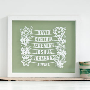 Personalised Family Tree Gift