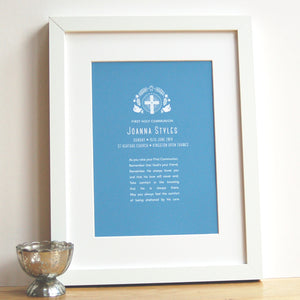 Holy Communion Print - Ant Design Gifts