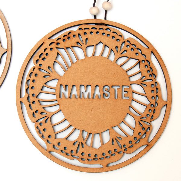Namaste Wall Sign - Ant Design Gifts
