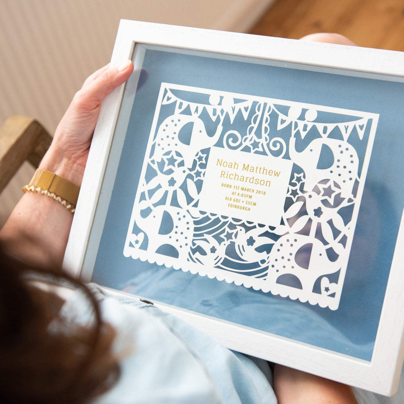 Personalised New Baby Gift - Ant Design Gifts