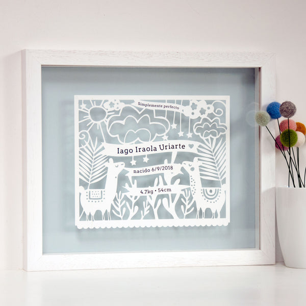 Personalised New Born Gift - Ant Design Gifts