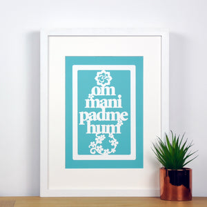 Om Mani Padme Hum Print - Ant Design Gifts