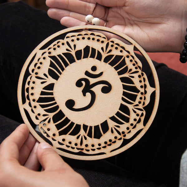 Om Symbol Wall Decor - Ant Design Gifts
