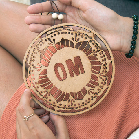 Om Round Wall Decor