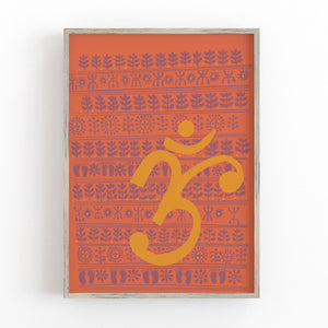 Om Wall Decor Art Print
