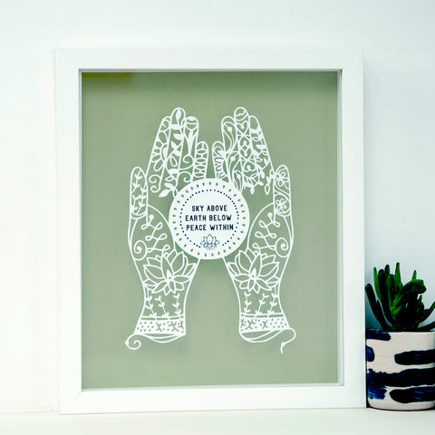 Personalised Yoga Gift with Quote - Ant Design Gifts