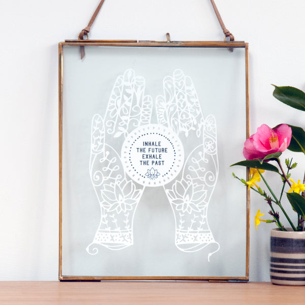 Yoga Gift with Quote - Ant Design Gifts