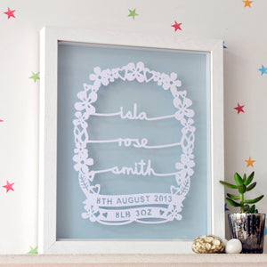 Personalised New Born Baby Gift - Ant Design Gifts