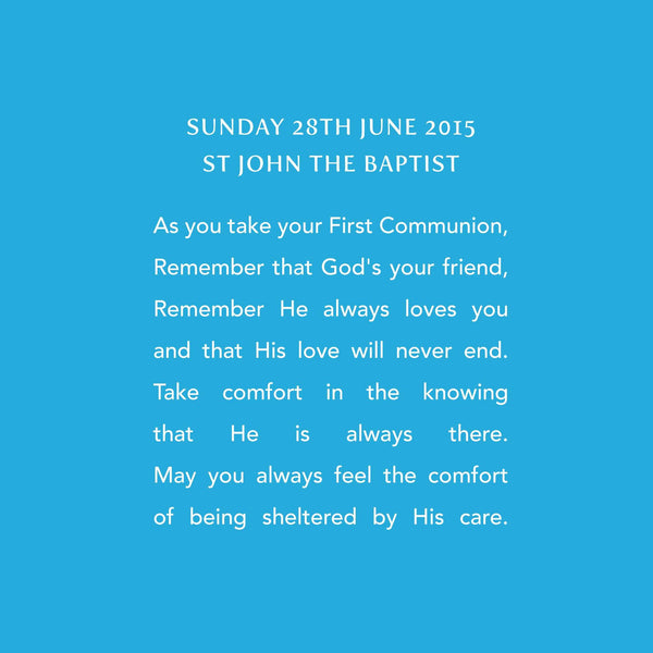 holy communion verse