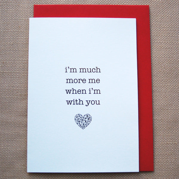 Valentines Day Gold Card