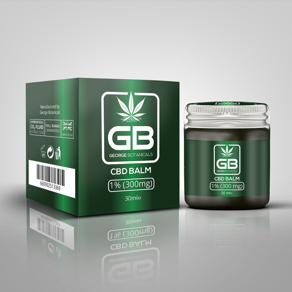 George Botanicals CBD Balm with 1% CBD Extract (30ml)