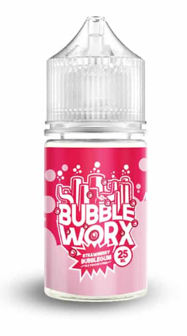 Strawberry Bubblegum 25ml By Bubbleworx