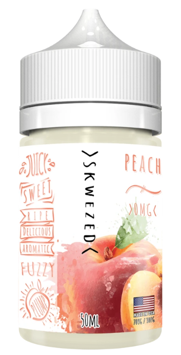 Peach 50ml By SKWEZED