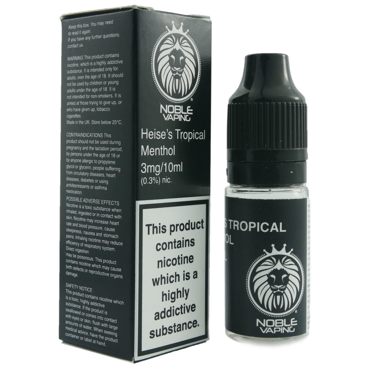 Noble Vaping Hesse's Tropical Menthol