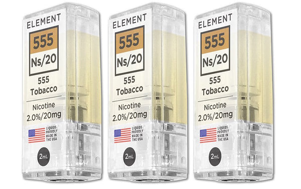 Element NS20 Pods 555 Tobacco