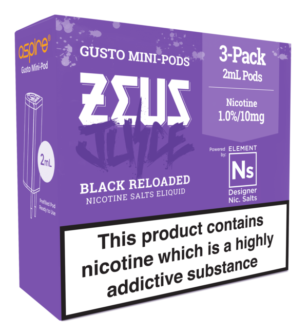 Element NS20 Pods Zeus Black Reloaded