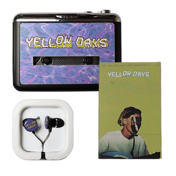 YELLOW DAYS WALKMAN + HEADPHONES + HARMLESS MELODIES (CASSETTE)