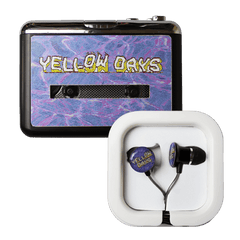 YELLOW DAYS WALKMAN + HEADPHONES